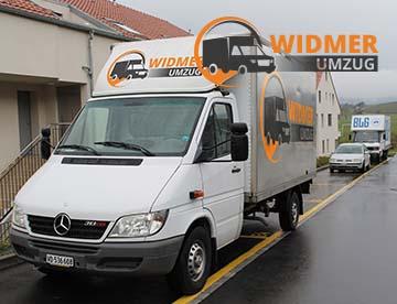 WIDMER UMZUG Bern - 6 LKWs
